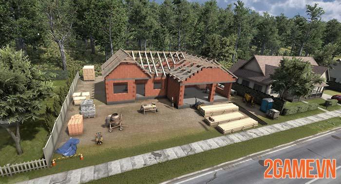 Builder Simulator - Trải nghiệm chân thực từng công đoạn xây nhà 0