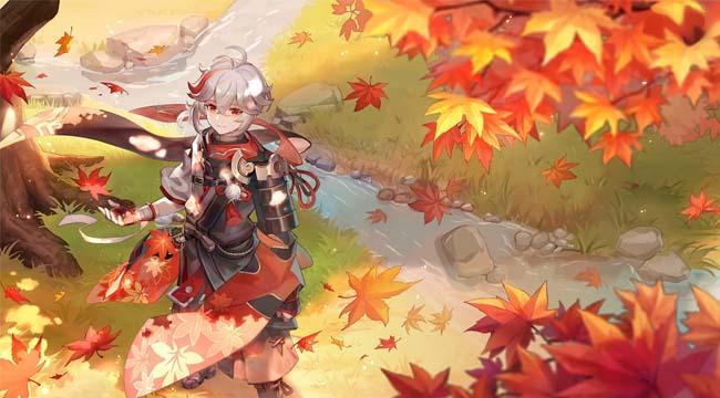 Kazuha trong Genshin Impact – Trang đầu tiên trong Inazuma phiêu lưu ký