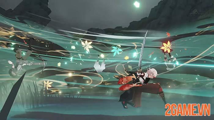 Kazuha trong Genshin Impact - Trang đầu tiên trong Inazuma phiêu lưu ký 3