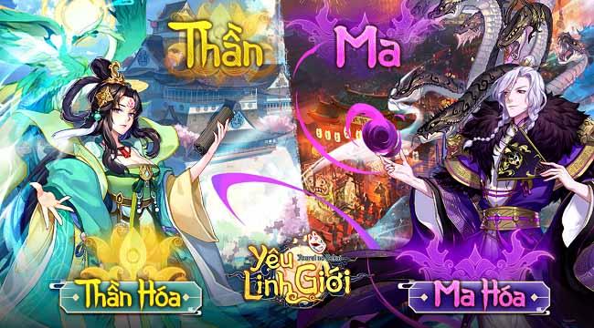 Có gì đặc sắc trong Yêu Linh Giới VGP – game Omyonji chất Nhật