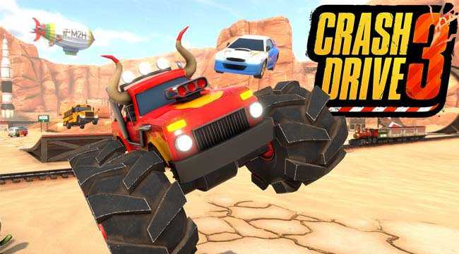 Crash Drive 3 – Game đua xe bom tấn đa nền tảng đã sẵn sàng ra mắt
