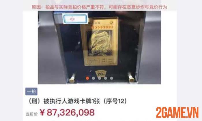 Rồng Trắng Mắt Xanh trong game Yugi-Oh được đấu giá đến 13 triệu USD 1