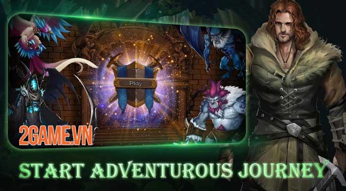 Ellrland Tales: Deck Heroes - Game thẻ bài Roguelike với tính năng CCG và DBG 1