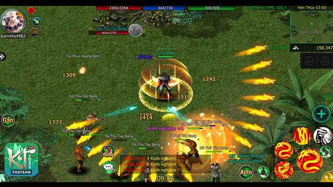 Kiếm Thế 2009 Mobile – Game đưa siêu phẩm Kiếm Thế huyền thoại lên di động sắp ra mắt