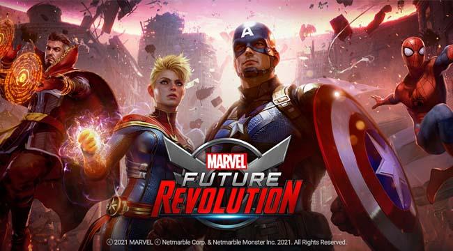 Marvel Future Revolution – Game siêu anh hùng Marvel sẵn sàng ra mắt