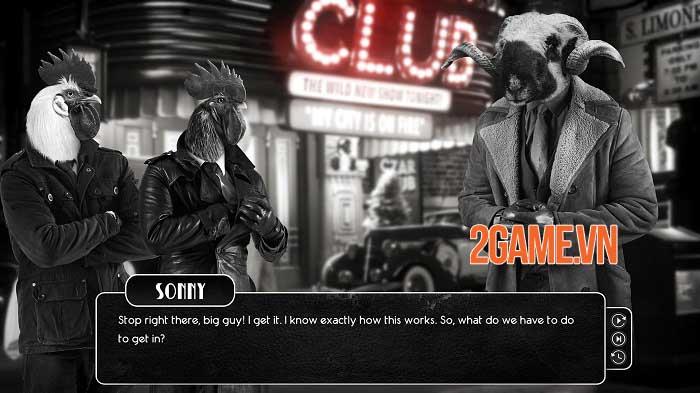 Chicken Police - Game trinh thám lấy cảm hứng từ phim noir kinh điển 0