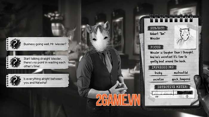 Chicken Police - Game trinh thám lấy cảm hứng từ phim noir kinh điển 2