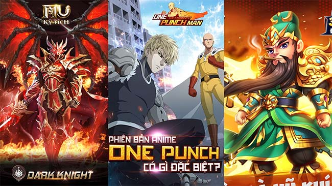 TOP 10 tựa game mobile HOT chuẩn bị công phá làng game Việt trong tháng 7