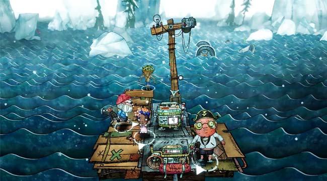 Trash Sailor – Game sinh tồn lênh đênh trong biển rác cùng đồng bọn