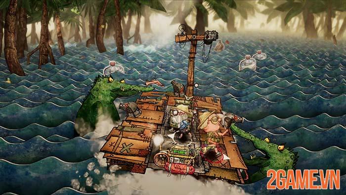 Trash Sailor - Game sinh tồn lênh đênh trong biển rác cùng đồng bọn 2