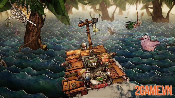 Trash Sailor - Game sinh tồn lênh đênh trong biển rác cùng đồng bọn 3