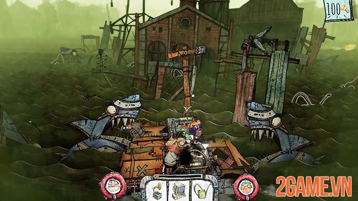 Trash Sailor - Game sinh tồn lênh đênh trong biển rác cùng đồng bọn 1
