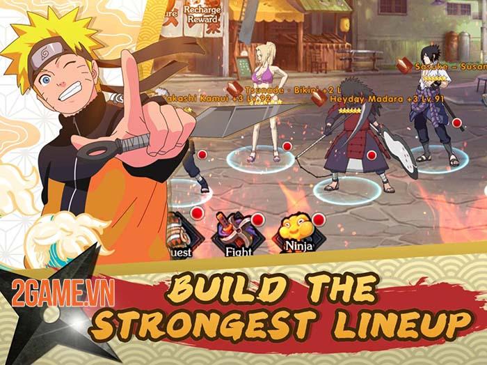 Ultimate Fight: Survival - Giải trí nhẹ nhàng cùng thế giới Naruto thu nhỏ 1
