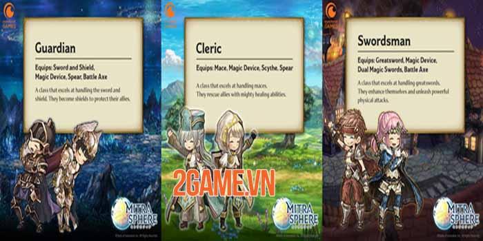 Game nhập vai giả tưởng Mitrasphere chính thức có mặt trên mobile 3