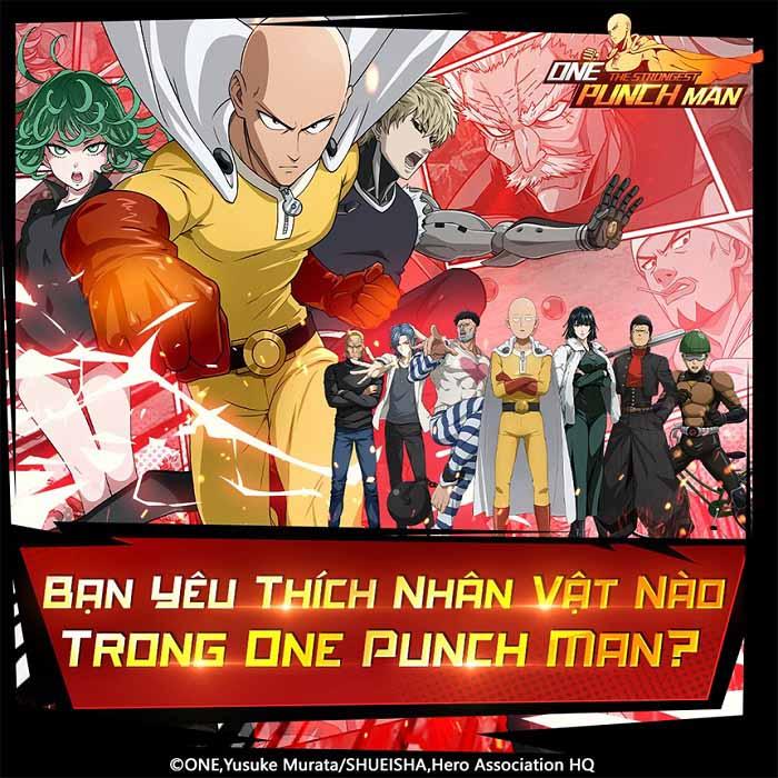 Những kiểu anh hùng trong One Punch Man: The Strongest 3