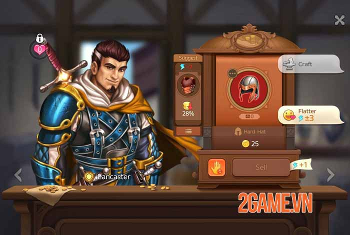 Shop Heroes Legends - Đắm mình trong game nhập vai Simulation Tycoon hoàn toàn khác 4