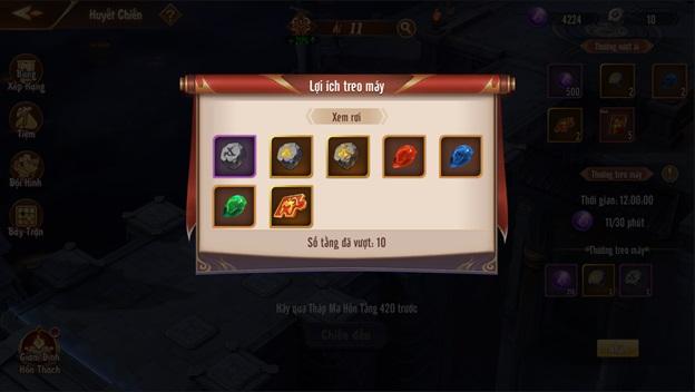 Tân OMG3Q VNG: Huyết Chiến – Tính năng Thủ Thành độc đáo trong dòng game đấu tướng chiến thuật 9