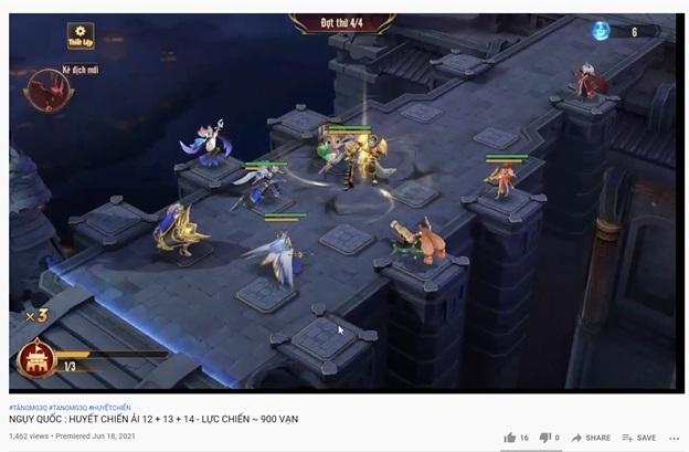 Tân OMG3Q VNG: Huyết Chiến – Tính năng Thủ Thành độc đáo trong dòng game đấu tướng chiến thuật 5