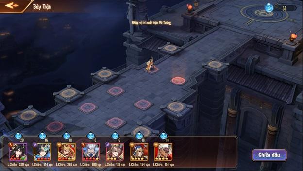 Tân OMG3Q VNG: Huyết Chiến – Tính năng Thủ Thành độc đáo trong dòng game đấu tướng chiến thuật 6