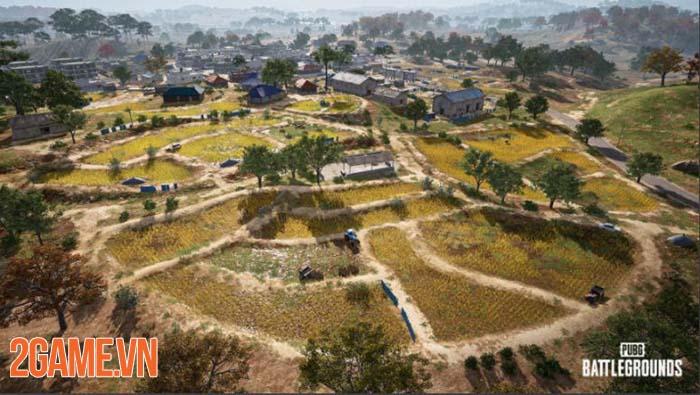 Hé lộ bản đồ mới Taego PUBG bắt đầu trông như Call of Duty Warzone 1