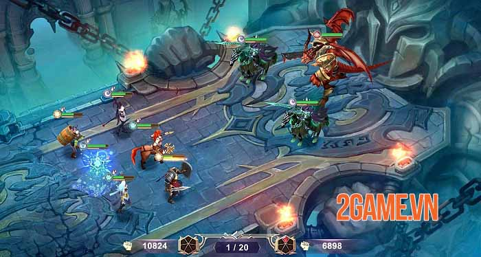 Ace Defender: War of Dragon Slayer - Game phòng thủ tháp độc đáo năm 2021 1