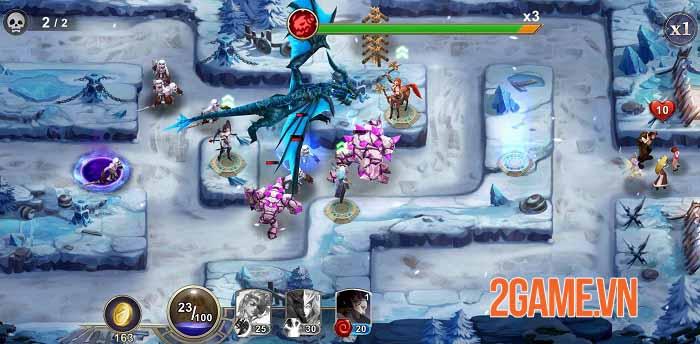 Ace Defender: War of Dragon Slayer - Game phòng thủ tháp độc đáo năm 2021 2