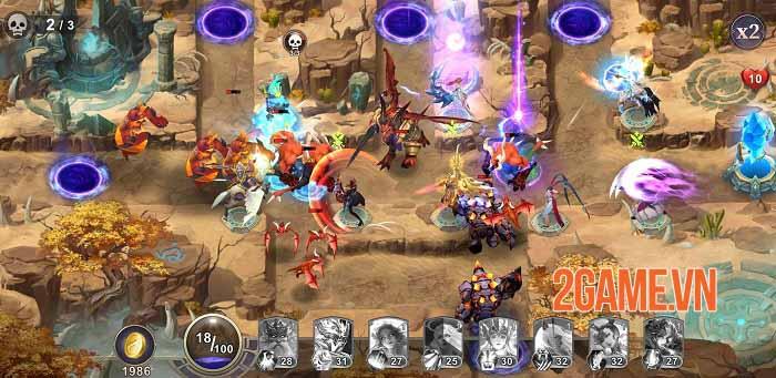 Ace Defender: War of Dragon Slayer - Game phòng thủ tháp độc đáo năm 2021 3