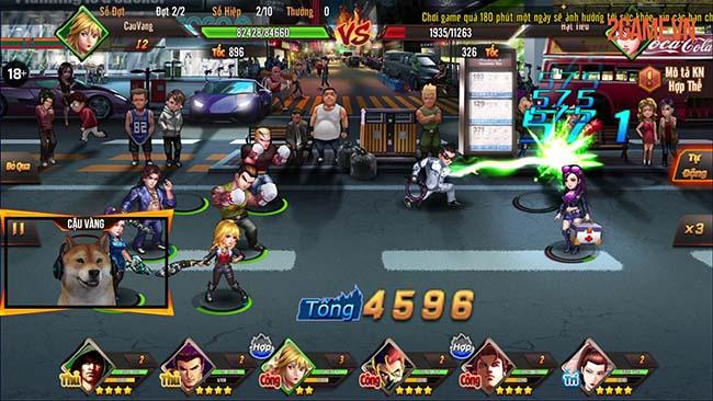 Cảm nhận Người Trong Giang Hồ Mobile – Game đối kháng đường phố siêu ngầu