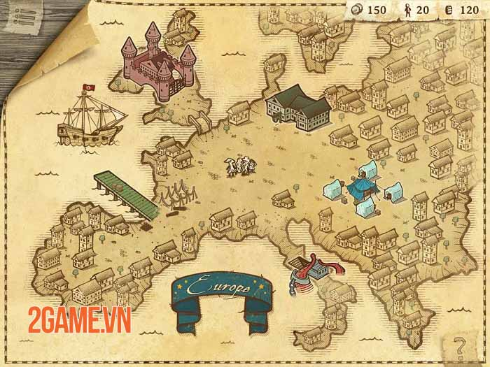 Here Be Dragons - Game săn quái vật đánh theo lượt giúp Columbus khám phá thế giới mới 0