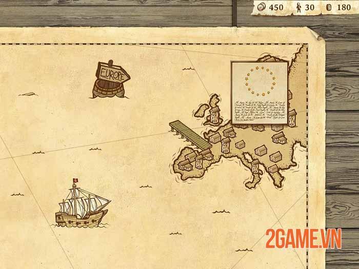 Here Be Dragons - Game săn quái vật đánh theo lượt giúp Columbus khám phá thế giới mới 2