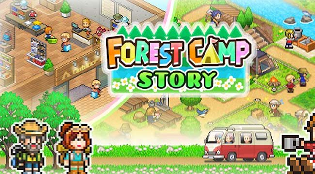 Forest Camp Story – Game mô phỏng chất lượng của Kairosoft trên Mobile