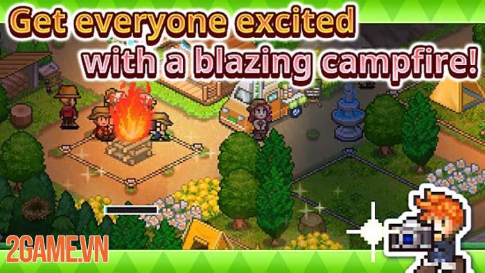 Forest Camp Story - Game mô phỏng chất lượng của Kairosoft trên Mobile 1