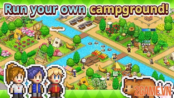 Forest Camp Story - Game mô phỏng chất lượng của Kairosoft trên Mobile 3
