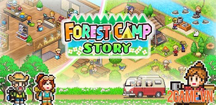 Forest Camp Story - Game mô phỏng chất lượng của Kairosoft trên Mobile 0