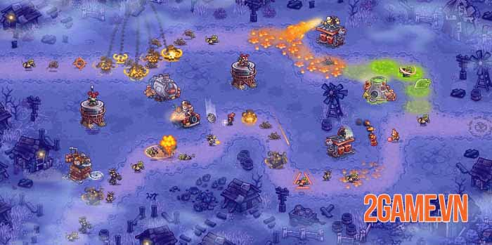 Junkworld - Game phòng thủ tháp nắm bắt cơ chế mới với tiết tấu nhanh 1