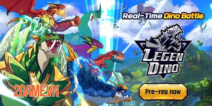 Legendino: Dinosaur Battle - Thu thập và tiến hóa khủng long để chiến đấu 0
