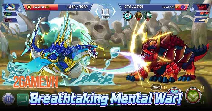 Legendino: Dinosaur Battle - Thu thập và tiến hóa khủng long để chiến đấu 1