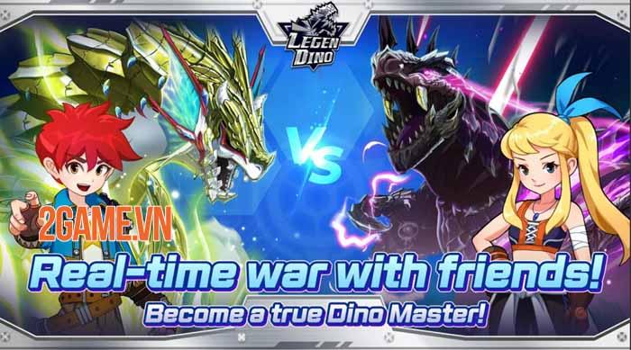 Legendino: Dinosaur Battle - Thu thập và tiến hóa khủng long để chiến đấu 2