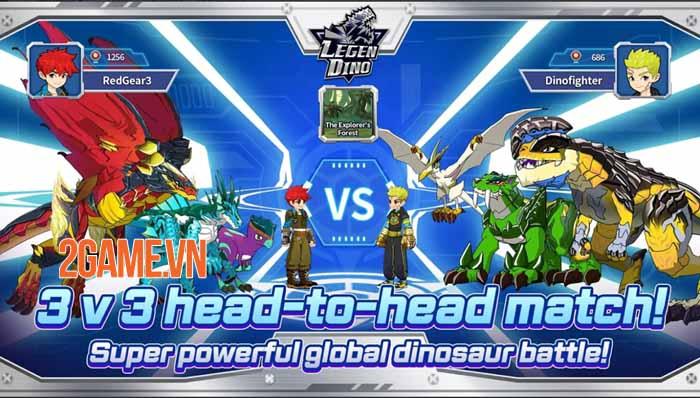 Legendino: Dinosaur Battle - Thu thập và tiến hóa khủng long để chiến đấu 3
