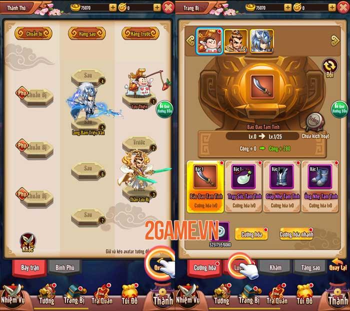 Chiu Chiu Tam Quốc Mobile ghi điểm ở lối chơi vui nhộn và sự gọn nhẹ 2