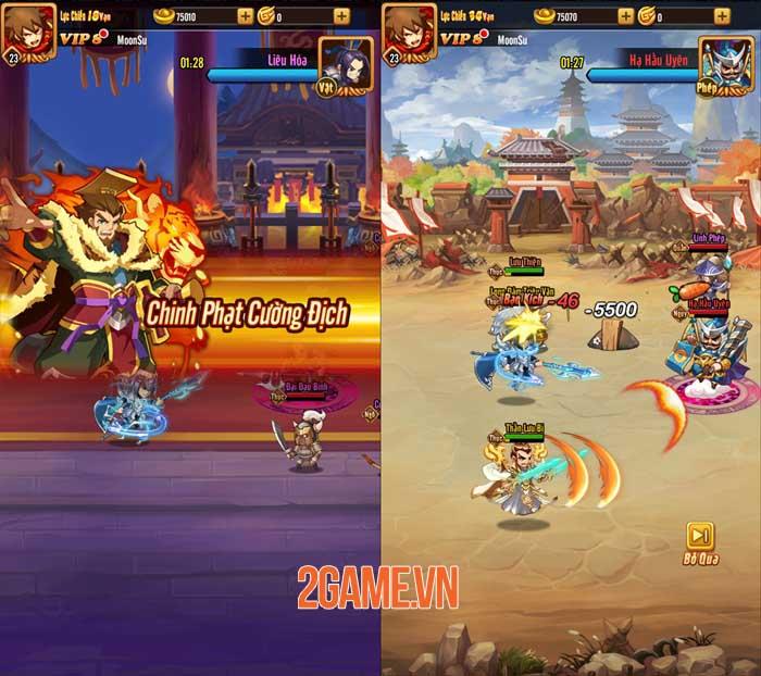 Chiu Chiu Tam Quốc Mobile ghi điểm ở lối chơi vui nhộn và sự gọn nhẹ 3