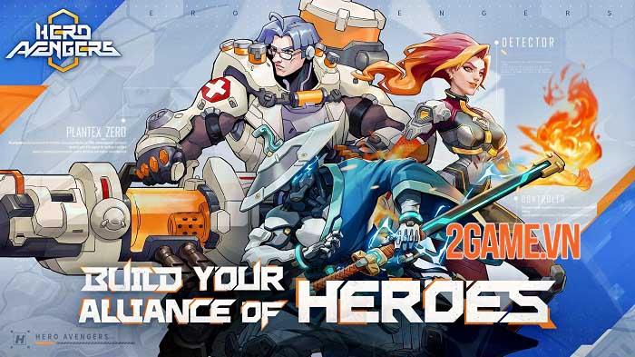 Hero Avengers - Game idle bối cảnh khoa học viễn tưởng sử thi dễ chơi 0