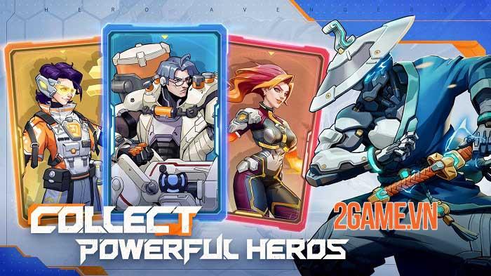 Hero Avengers - Game idle bối cảnh khoa học viễn tưởng sử thi dễ chơi 1