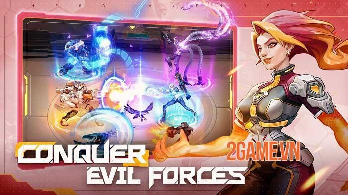 Hero Avengers - Game idle bối cảnh khoa học viễn tưởng sử thi dễ chơi 2