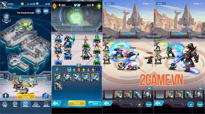 Hero Avengers - Game idle bối cảnh khoa học viễn tưởng sử thi dễ chơi 3