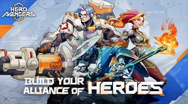 Hero Avengers – Game idle bối cảnh khoa học viễn tưởng sử thi dễ chơi