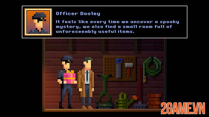 The Darkside Detective - Game phiêu lưu giải đố đồ họa Pixel trên PC 1