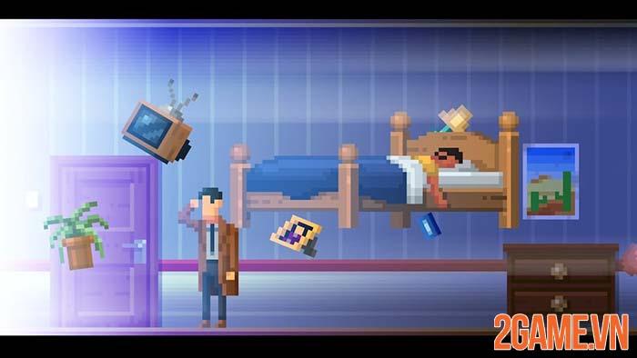 The Darkside Detective - Game phiêu lưu giải đố đồ họa Pixel trên PC 2