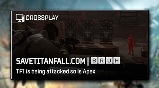 Bi hài Apex Legends bị Hacker viếng thăm và phàn nàn về Titanfall