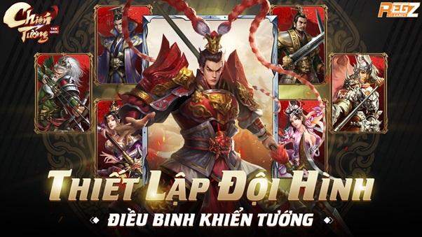 Chiến Tướng Tam Quốc - Game chuẩn chiến thuật thế hệ mới hé lộ thời điểm ra mắt 3
